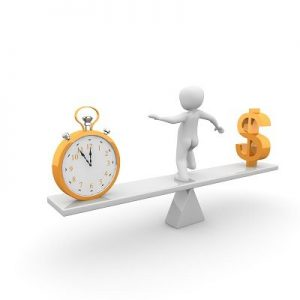 Le temps est il de l'argent ?