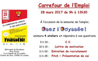 Carrefour de l'Emploi 28 mars 2017