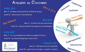 2017 sem1 Ateliers Coaching à Bordeaux Osez l'Odyssee