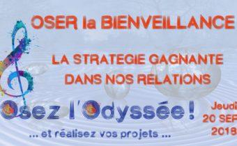 Bienveillance - Soirée coaching de vie à Bordeaux Osez l'Odyssée 2018