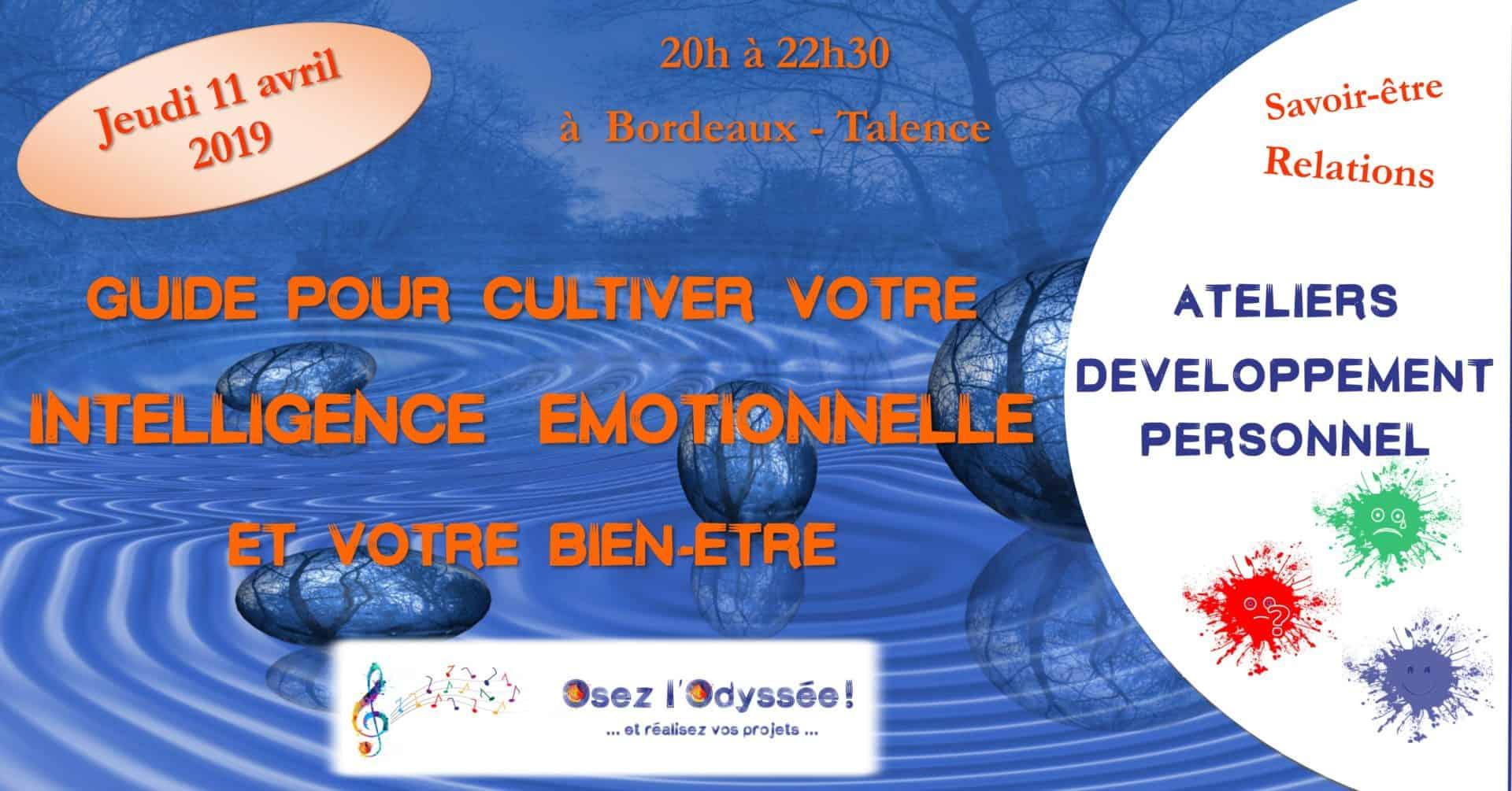 Atelier Intelligence émotionnelle Osez l'Odyssée 2019 04 11